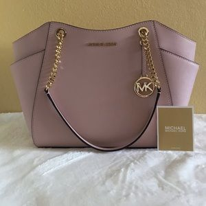NEW Michael Kors Jet Set Large Chain Shoulder Tote